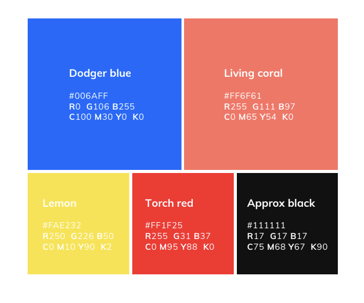 Appical color palette