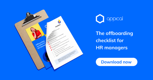 Appical offboarding checklist
