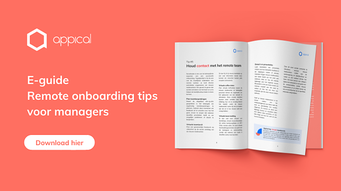 Mockup E-guide Remote onboarding tips voor managers NL