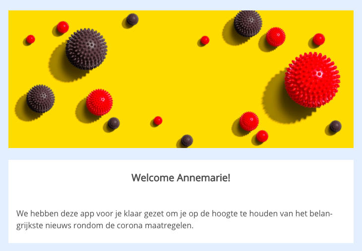 Screenshot Appical App