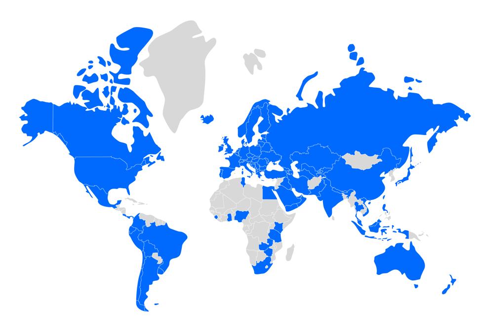wereldkaart gebruik appical app